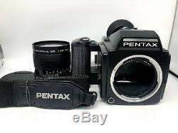 FedExNr MINT Pentax 645 Film Camera + SMC A 45mm f2.8 + 120 Back From Japan