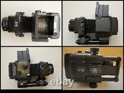 Fuji GX680 Medium Format Camera withGX 180mm/f-5.6 lens, Film Back, & Battery Pack