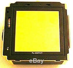 Gold Hasselblad A12 Film Magazine 120 Back for 500C/M 2000FCM Anniversary Camera