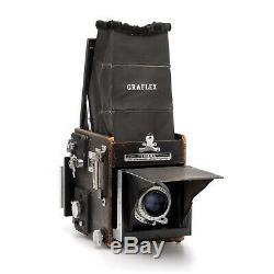Graflex RB Super D 3x4 Camera + Kodak Ektar 152mm f4.5, 120 Film Back, #E0830