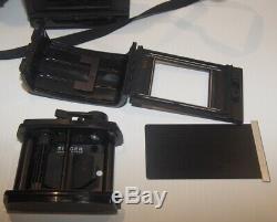 Graflex XL KS-98B Camera Ser# X51402 with Zeiss Tessar 100mm f3.5 & RH10 Film Back