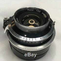 Graflex Xl Camera Kit, roll film & Polaroid backs, 80mm Planar, 58mm Rodenstock