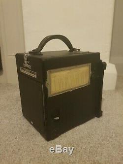 Graflok back Graflex RB Super D 4x4 Film Camera Kodak 152mm f4.5 Lens 4x5 film