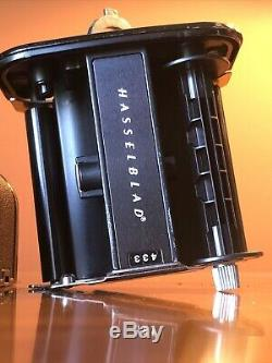 HASSELBLAD 500CM Medium Format Camera Black Body + A12 Film Back Magazine