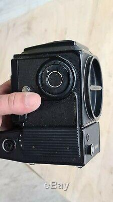 HASSELBLAD 500 EL/M CHROME CAMERA BODY With A12 FILM BACK