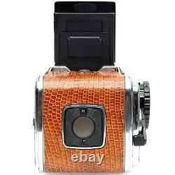 Hasselblad 500CM Medium Format Film Camera Body with A12n Back (Brown Leather)