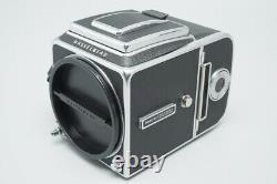 Hasselblad 500C/M 500CM Film Camera + Waist Level Finder & A12 II Back, 500 CM