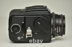 Hasselblad 500C/M Camera with 80mm f2.8 + A12 Film Back MINT