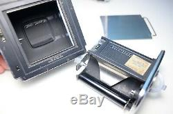 Hasselblad 500C/M Chrome Camera with Finder & A12 Film Back #10EP21742