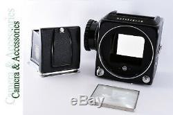 Hasselblad 500C/M Medium Format Camera with Waist Level Finder, Film Back & Cap