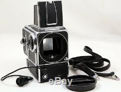 Hasselblad 500EL Film Medium Format Camera + WL Finder, A16 Film Back, Batt Adpt