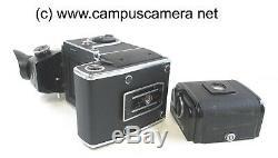 Hasselblad 500EL/M Medium Format 120 camera with45 Metered Prism & 16 Film Back