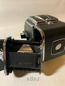 Hasselblad 500 C Film Camera, CZ Planar 80mm f2.8 Lens, A12 Film Back, Used