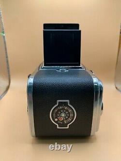 Hasselblad 500 C/M 6x6 Film Camera, Zeiss 2.8 80mm lens, A12 Back, & Lens Hood