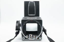 Hasselblad 500 C/M (CM) Medium Format Film Camera & A12 Roll Film Back Chrome