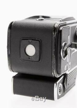 Hasselblad 500 EL/M 6x6 Chrome Medium Format Camera With A12 Film Back