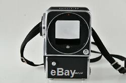 Hasselblad 500 EL/M 6x6 medium format camera body with film back and charger