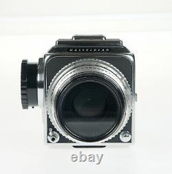 Hasselblad 500cm 500c/m camera + Chrome C Planar 80mm F2.8 lens + A12 film back