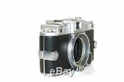 KODAK EKTRA Rangefinder Camera with2 film backs Limited Very Rare, #c-1321, as is
