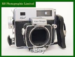 Konica Koni-Omega Rapid Camera Body with 120 Roll Film Back. Stock No U8047