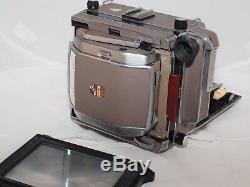 Linhof 4x5 Super Technika-V Large Format Camera Rollex FILM back (3) Film Holder