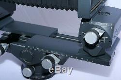 Linhof M679CC Medium Format Film Camera Kit with 6x7 Rollex back, GG Back, Case