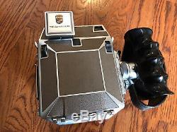 Linhof SUPER TECHNIKA IV 6X9 Camera 65mm and 180mm lenses, Viewfinder, Film Back