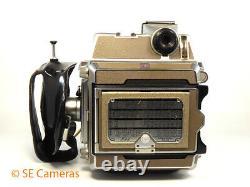 Linhof Super Technika IV Camera & Carl Zeiss Planar 100mm F2.8 Lens, Film Back