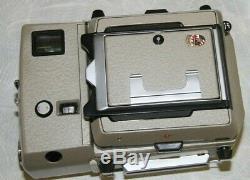 Linhof Technika 70 Camera with3 Lenses, 4 Film Backs 100mm, 65mm, 180mm MINT, MORE