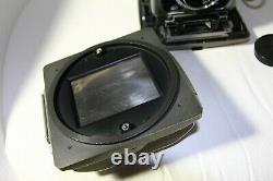 Linhof Technika 70 Camera with Lens and film back 69 6 9