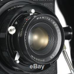 MAMIYA PRESS SUPER 23 FILM CAMERA With 100mm F3.5 LENS 6X4.5 6X6 6X9 FILM BACK