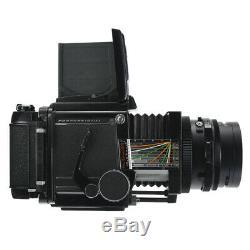 MAMIYA RB67 6X7 RB PRO FILM CAMERA + SEKOR C 90mm F3.8 + 120 FILM BACK KIT