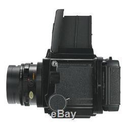 MAMIYA RB67 6X7 RB PRO S SLR FILM CAMERA + C 90mm F3.8 + 120 FILM BACK KIT CLA'd