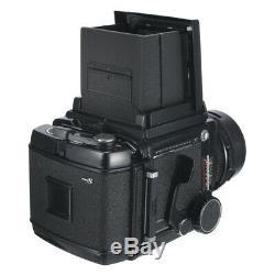 MAMIYA RB67 RB 6X7 PRO S FILM CAMERA + SEKOR C 90mm F3.8 LENS +120 FILM BACK KIT