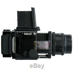 MAMIYA RZ67 6X7 PRO FILM CAMERA + SEKOR Z 127mm F3.5 W LENS + 120 FILM BACK KIT