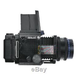 MAMIYA RZ67 6X7 PRO FILM CAMERA + SEKOR Z 127mm F3.8 W + 120 FILM BACK KIT 90D W