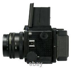 MAMIYA RZ67 PRO FILM CAMERA + K/L 127mm F3.5 L LENS + 120 FILM BACK KIT / CLA'd