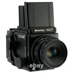 MAMIYA RZ67 PRO FILM CAMERA + SEKOR Z 127mm F3.8 LENS + 120 FILM BACK KIT /CLA'd