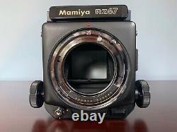 MAMIYA RZ67 Pro Medium Format Film Camera+ SEKOR Z 50mm f/4.5 + 120 Back
