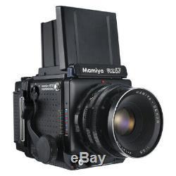 MAMIYA RZ67 RZ 6X7 PRO FILM CAMERA + SEKOR 127mm F3.8 LENS + FILM BACK KIT