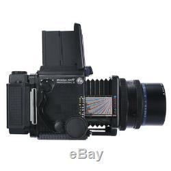 MAMIYA RZ67 RZ 6X7 PRO II FILM CAMERA + SEKOR Z 90mm F3.5 W LENS + FILM BACK KIT
