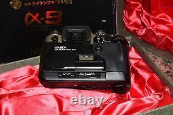 MINOLTA A-9 Ti 35MM SLR FILM CAMERA A9 TITANIUM ALPHA 9 DM-9 DATA MEMORY BACK