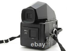 MINTBronica SQ Film Camera S 80mm f/2.8 120 Film Back From JAPAN