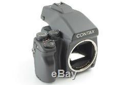 MINTContax 645 Film Camera withMF-1 Finder + 120/220 Film Back from Japan C730J