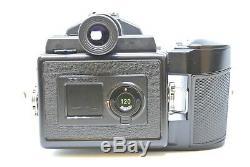 MINTPentax 645 Medium Format SLR Film Camera with 2 film Back, strap from JAPAN