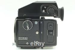 MINTZenza Bronica ETRS Film Camera + AE II Finder + MC 75mm + N 135 Back JAPAN