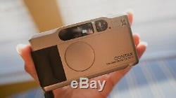 MINT Contax T2 35mm Point & Shoot Film Camera With Data Back From Japan #597