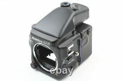 MINT Mamiya 645 Pro Film Camera AE Finder Winder 120 Film Back From JAPAN