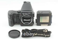 MINT Mamiya 645 Pro Film Camera AE Finder Winder 120 Film Back From JAPAN 1492