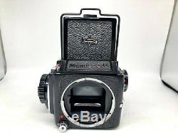 MINT Mamiya M645 Film Camera + Sekor C 55mm f2.8 + 120 Film Back From JAPAN